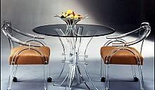 Круглый кухонный стол