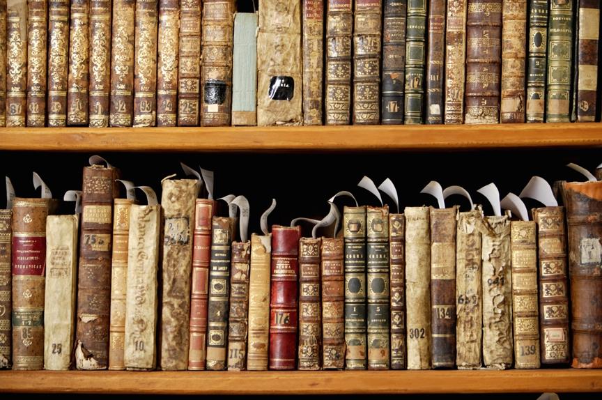 Библиотека фото книжные полки фото