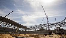 Футбольную арену в Борисове превращают в 8 инновационное чудо света