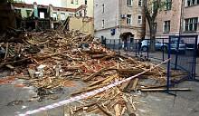 Более 20 незаконно возведенных объектов снесено в центре Москвы в 2011 году