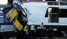 Лобовое столкновение швейцарских составов повлекло за собой смерть машиниста и ранения 35 пассажиров
