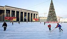 Уличные катки в Минске зальют после недельных морозов