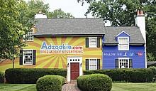 Превратите дом в биллборд - получите бесплатную ипотеку!