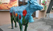 В Минске возле Комаровского рынка появится памятник корове