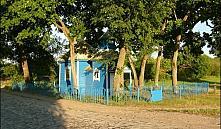 В Столинском районе молнией была уничтожена часовня XIX века