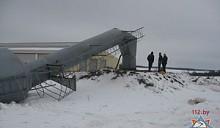 Водонапорная башня обрушилась в Могилевском районе