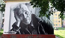 В Витебске появилось граффити с портретом Шагала