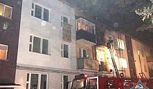 В Минске спасатели эвакуировали из горящей квартиры пенсионерку