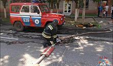 Короткое замыкание в холодильнике привело к большому пожару в общежитии Оршанского района