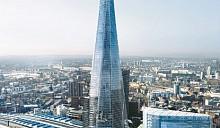 Самое высокое здание в Европе находится в Лондоне