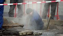 Минск: 33 дома остались без горячей воды из-за прорыва трубопровода