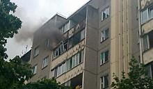 В Минске горело строение по улице Герасименко. Горожане говорят о взрыве