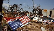 Жители 3 американских штатов не могут оправиться от нашествия 20 торнадо