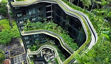 Зеленая вертикаль: в Сингапуре появится отель –  мировой обазец зеленого строительства