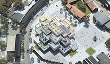 Гигантский LEGO House от архитекторов Bjarke Ingels Group украсит сердце одного из городов Дании