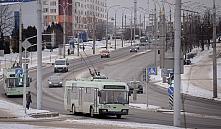 26 февраля на улице Пономаренко в Минске перекроют движение транспорта