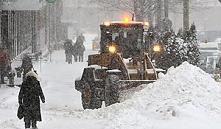 Минск: на уборку снега вывели около 350 единиц спецтехники