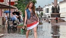 Минск и Брест «поплыли» вместе с Европой. Вчера белорусские города были затоплены