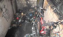 Пожар в Минске: из-за брошенного соседями окурка загорелся балкон