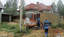 Из-за прорыва газопровода в Коробчицах спасатели эвакуировали 8 человек