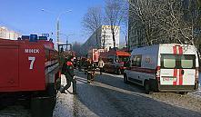 Пожар в минском общежитии: спасатели эвакуировали более 50 человек