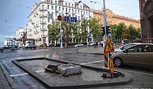 В Минске на проезжей части появятся островки со скульптурами