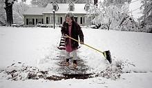 Снежный шторм оставил жителей севера США без света