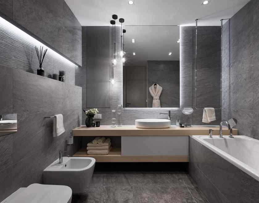 Дизайн соверемнной ванной