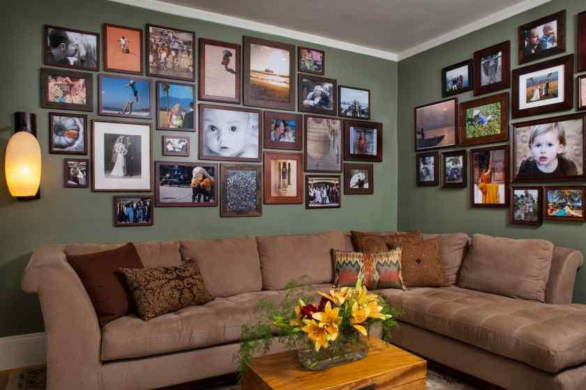 Фотогалерея в комнате
