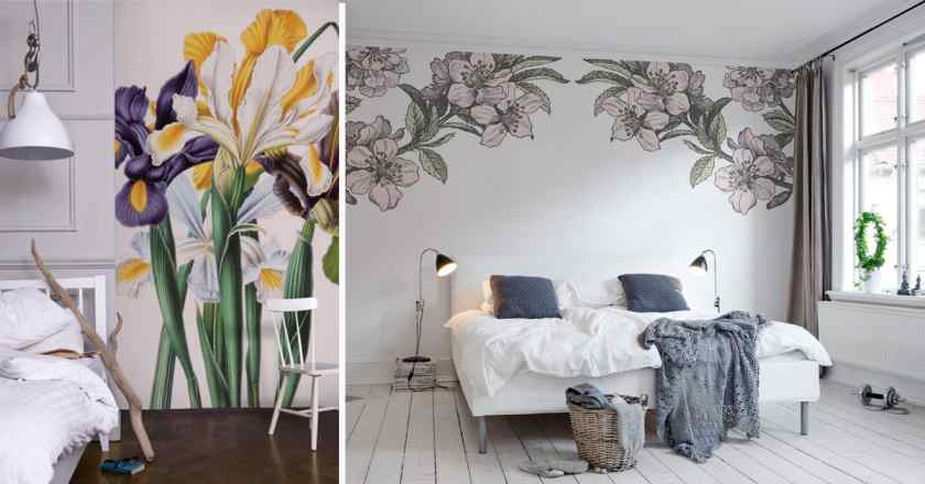 Как украсить квартиру росписью?
