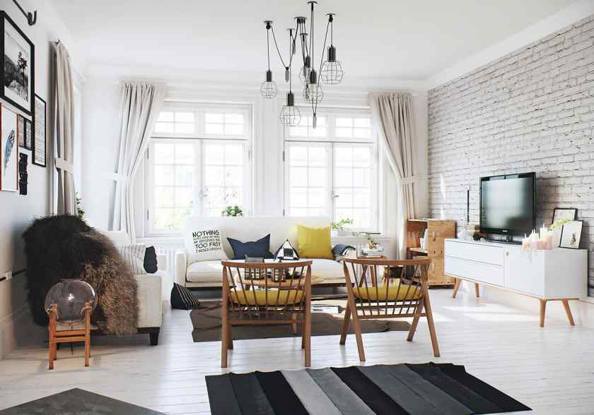 Скандинавский стиль в дизайне квартиры