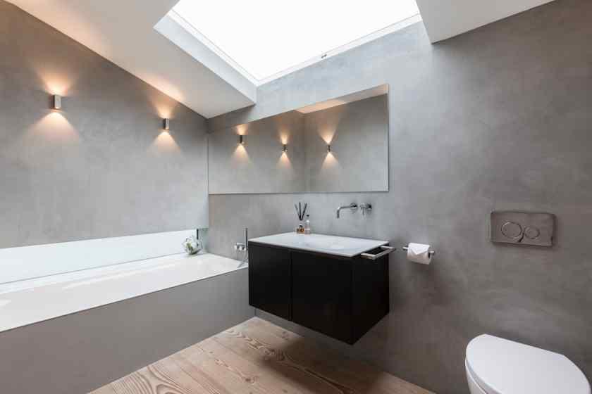 Декоративная штукатурка в отделка ванной