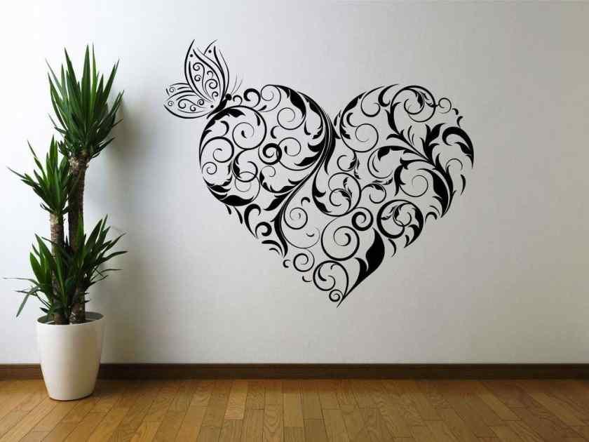 Как украсить комнату росписью?
