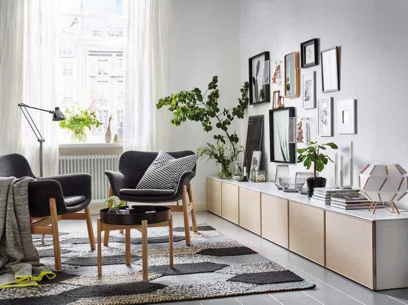 Мебель в скандинавском стиле в квартире