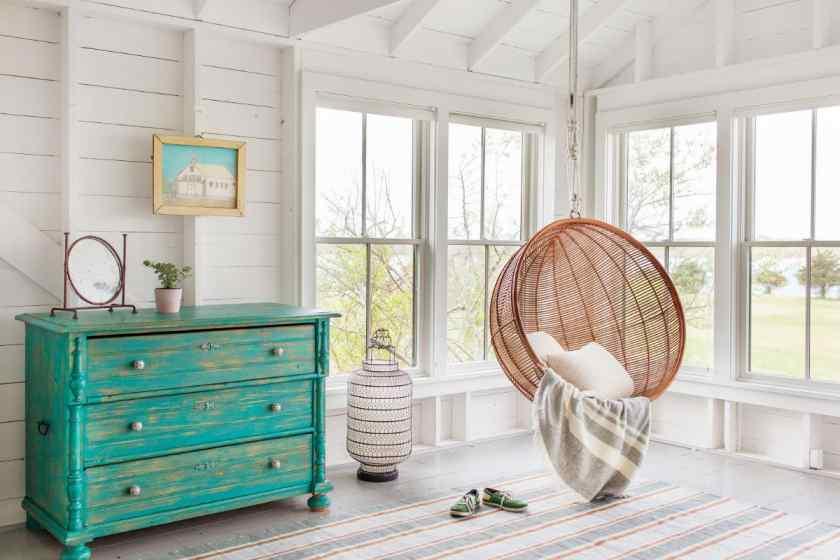 Комната в скандинавском интерьере квартиры
