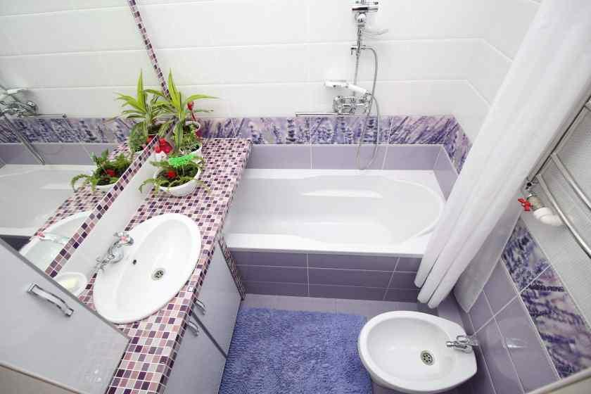 Интерьер стандартной ванной