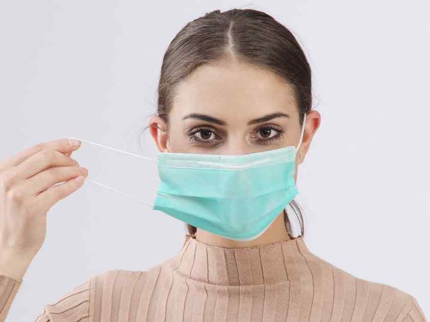 Как правильно носить медицинскую одноразову юмаску?