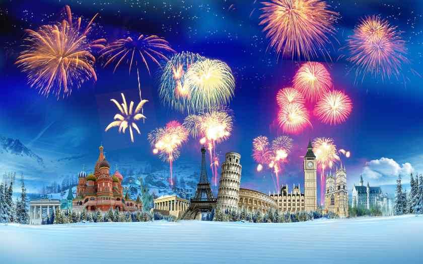 Где встретить новый год 2021 за границей?