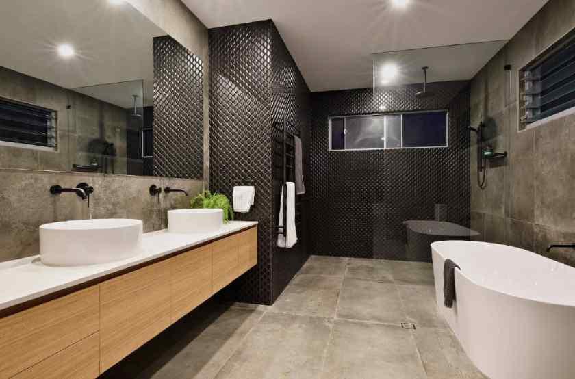 Дизайн стильной ванной