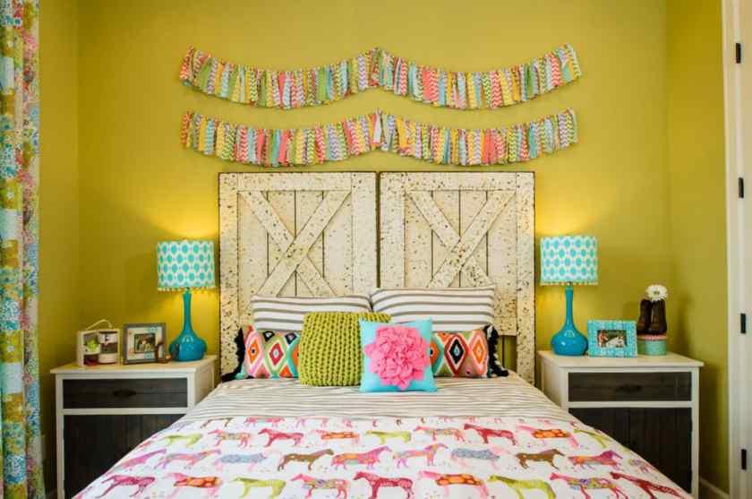 Как можно красиво украсить детскую комнату?