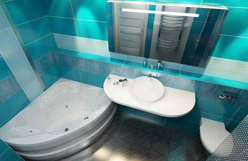 Дизайн совмещённой ванной комнаты