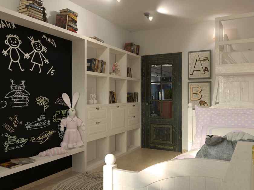 Как украсить комнату доской своими руками?