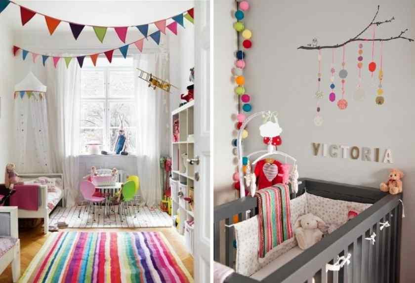 Как оформить детскую комнату красиво?