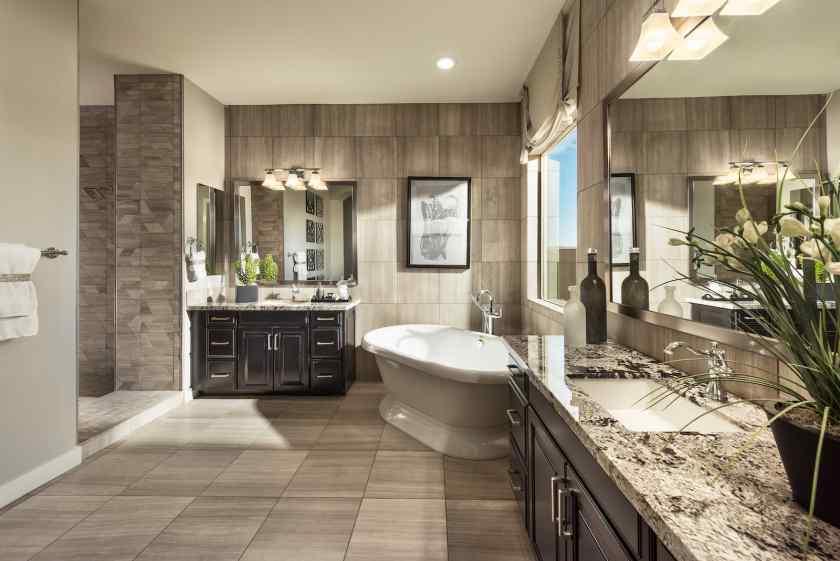 Палитра в дизайне ванной комнаты