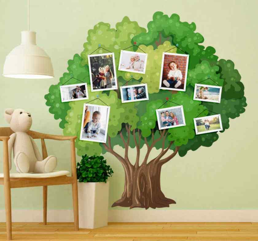 Генеологическое древо в детской