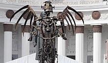 Чиновники города Владимир запретили скульптуру «Ангел на велосипеде»