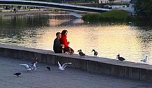 Застройка набережной реки Свислочь откладывается