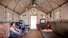 Икея решила позаботиться о беженцах и создала собственное укрытие