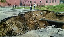 Сильными дождями в Гродно были повреждены дороги и затоплен ОАО «Гродно Азот»