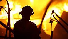В Славгородском районе во время похорон сгорел частный дом